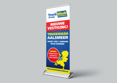 Roll up banner – Truckwash Group