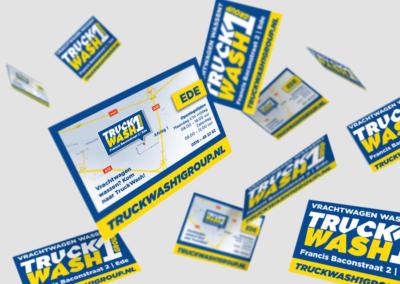 Truckwash flyers